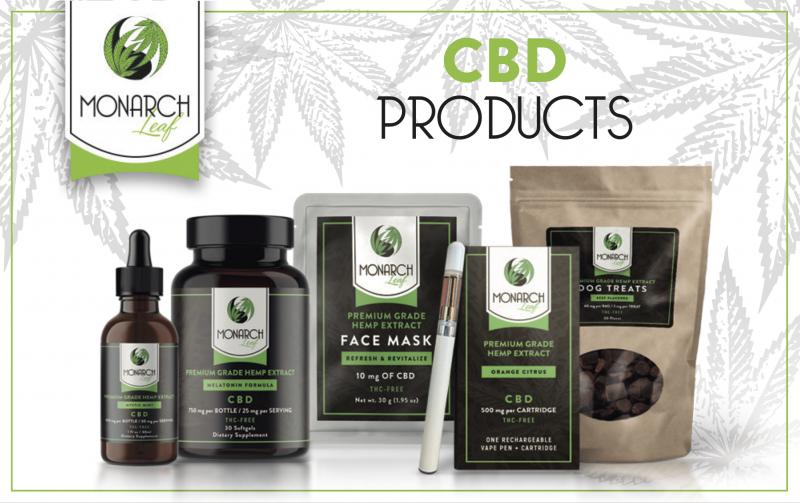 Banner CBD Products